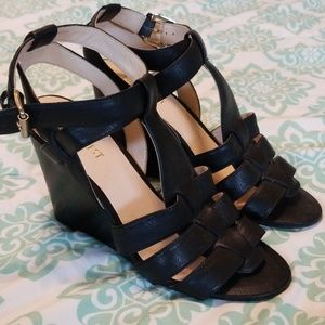 Nine West Strappy Sandal Wedges